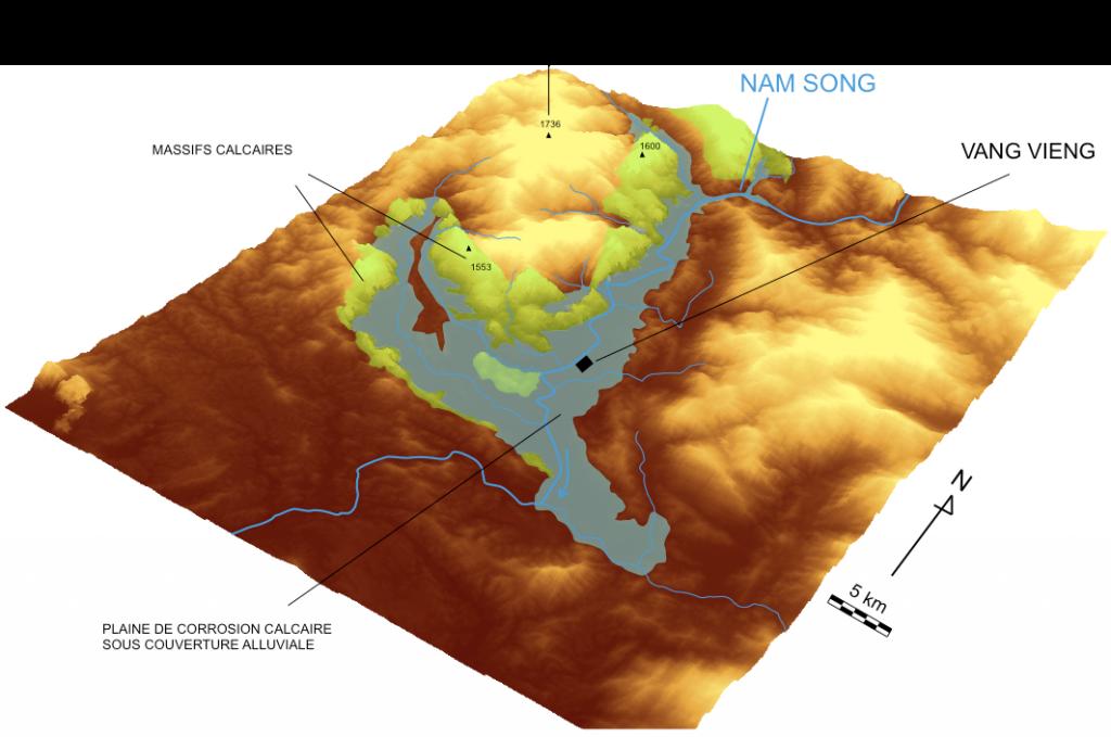 modèle numérique terrain