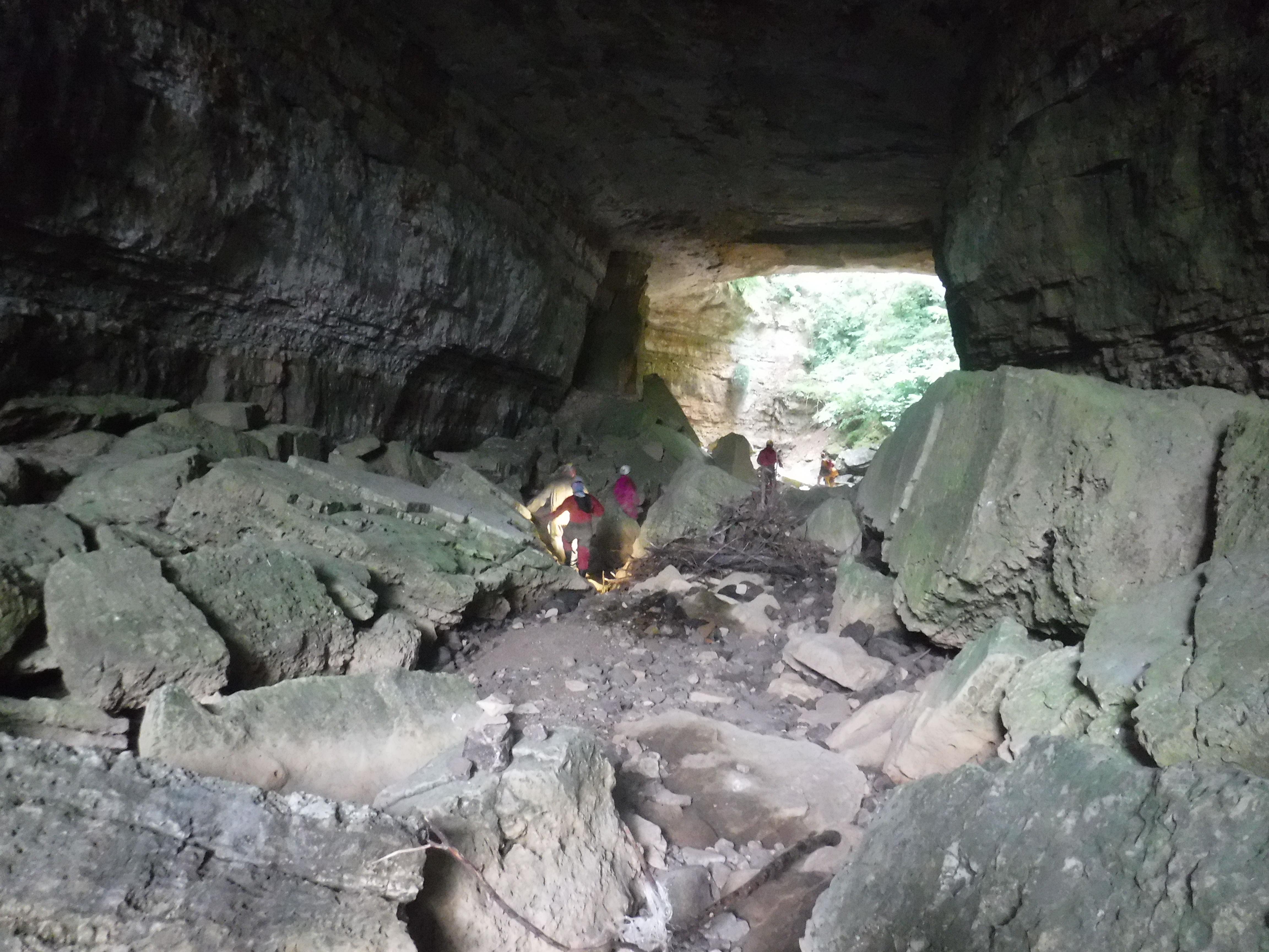 entrée rivière souterraine