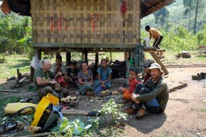 Famille laotienne