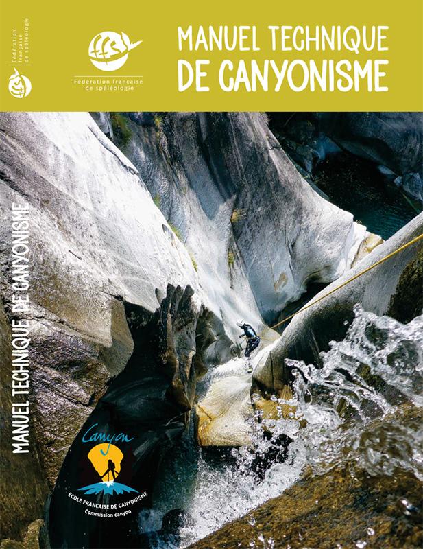 Couverture du manuel technique de canyonisme